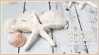 How To Make A Gumpaste Starfish Renee Conner