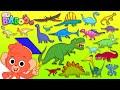 Dinosaur ABC Learn Alphabet With 26 CARTOON DINOSAURS For Children Animal ABC For Kids 4K