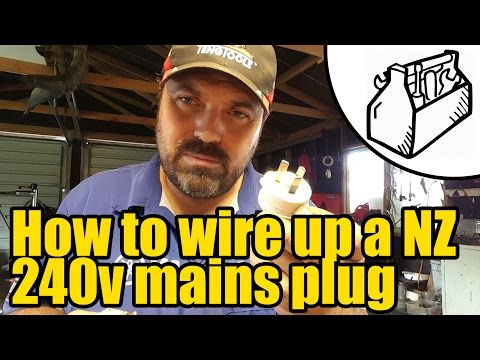 How to wire up a NZ plug #1925