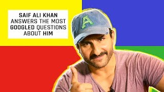 MensXP: Saif Ali Khan Answers The Most Googled Questions About Him | Celebrity Interview