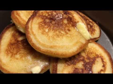 Homemade Hoe Cakes aka Fried Corn Bread with Recipe