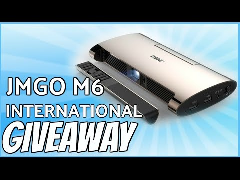 World Wide GIVEAWAY - JMGO M6 Portable DLP Projector Review - Best Compact Projector 2018?