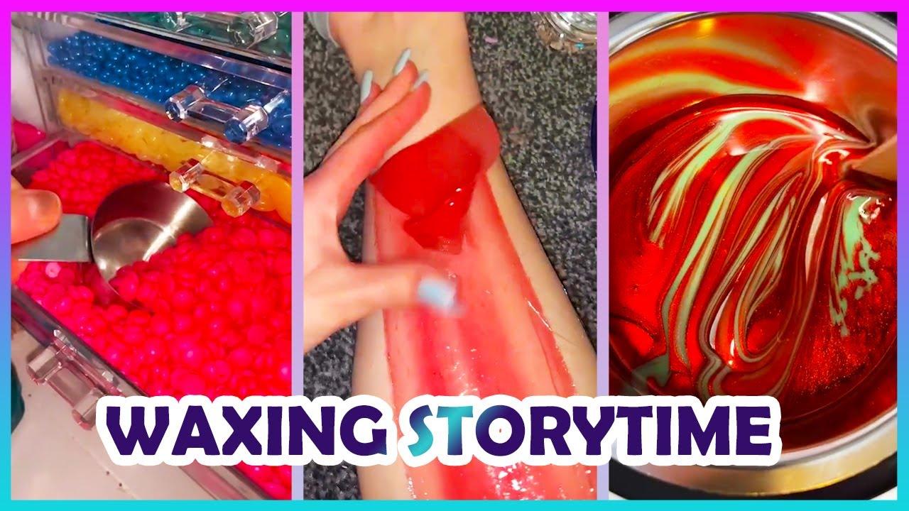 Satisfying Waxing Storytime ✨😲 Tiktok Compilation #16