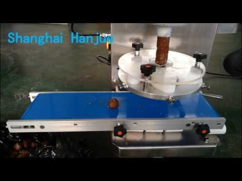 Automatic nut fruit ball making machine