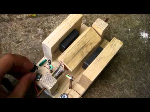 Home made Brushed Electric Motor