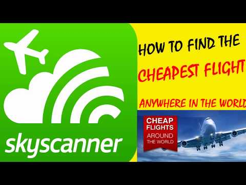 How to find Cheapest Flight to Travel Anywhere in the World-सब से सस्ता Flight टिकट कैसे  बुक करे?