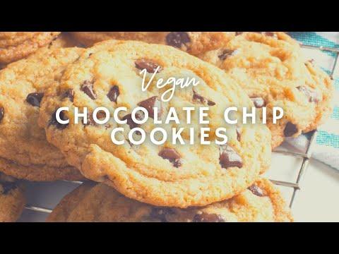 How To Make Chocolate Chip Cookies | Vegan | Korenn Rachelle