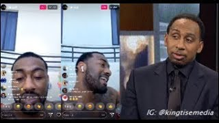 John Wall Responds To Stephen A. Smith Exposing Him For Partying At Rosebar While Wizards Suck