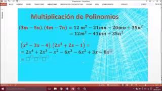 Multiplicación De Monomios Y Polinomios Profesor Lara