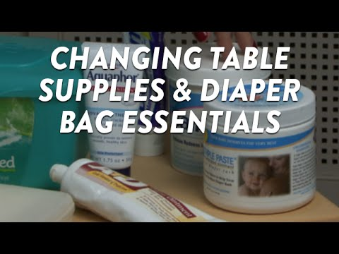 Changing Table Supplies and Diaper Bag Essentials | CloudMom