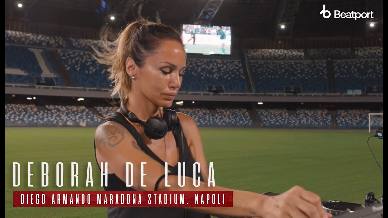 Deborah De Luca live @ Diego Armando Maradona stadium, Naples, July 5th 2021   @Beatport