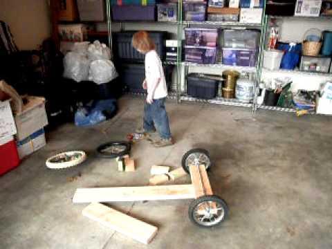 Aaron Builds a GoCart.AVI