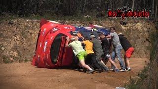 WRC Vodafone Rally de Portugal 2016 - CRASH, SHOW & FLAT OUT [HD]
