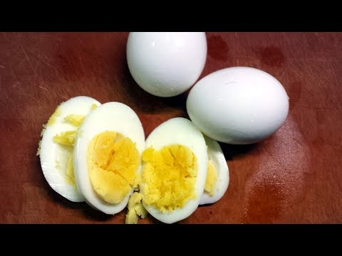 Easy and Reliable Hard Boiled Eggs
