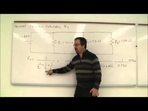 Calculating Total Resistance in a Parallel Circuit