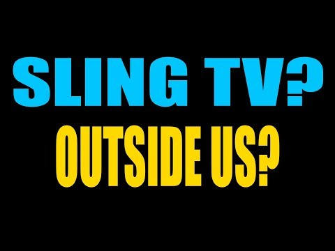 Watch Sling TV Outside the US without American Debit Card
