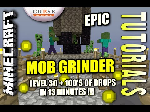 Minecraft PS4 - GRAVITY MOB GRINDER - Tutorial ( PS3 / XBOX / WII / PE )