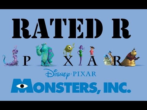 Rated R Pixar: Monsters, Inc.