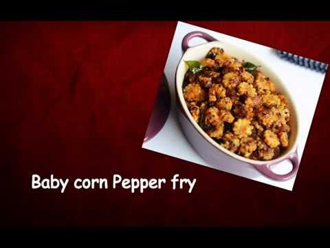 Baby corn pepper fry..