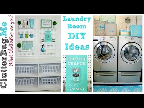 3 Easy DIY Laundry Room Ideas On A Budget