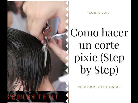 Como realizar un corte pixie (step by step)- How make to pixie cut hair