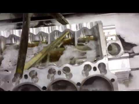 Engine Block Cleaning with and UltraSonic Cleaning Machine