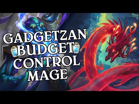 Gadgetzan Budget Control Mage [Standard] - Deck Guide - Hearthstone
