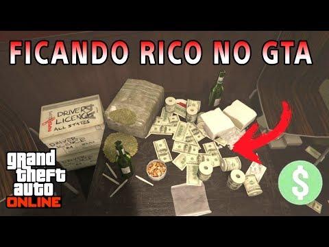 Como ganhar muito DINHEIRO (MONEY) + RP solo no GTA 5 ONLINE ?
