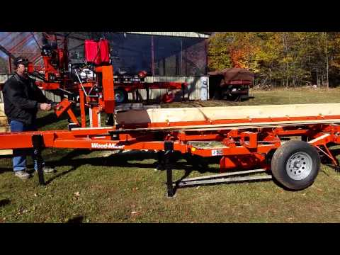 LT35-manual Wood-Mizer making siding
