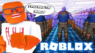 Download THANOS SUPER VILLAIN Factory Tycoon In Roblox😈 Video
