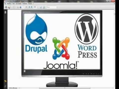 confronto cms: Joomla, Wordpress, Drupal