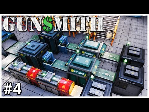 Gunsmith - #4 - New Lines - Let's Play / Gameplay / Construction