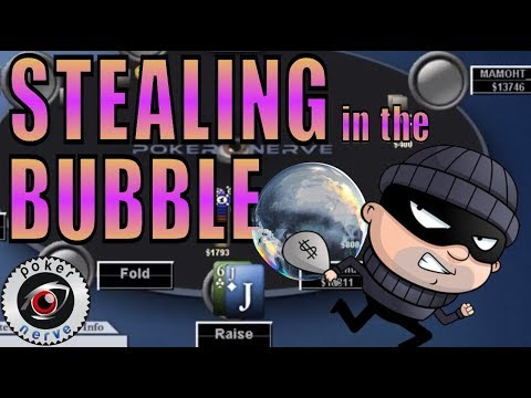 Stealing During The Bubble: Amateurs vs Pros [Poker Strategy]