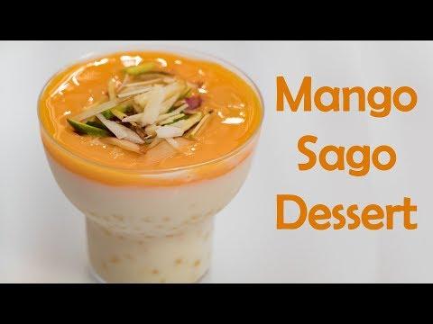 Mango Dessert Quick & Easy Indian Pudding Recipe मैंगो पुडिंग  डिजर्ट रेसिपी