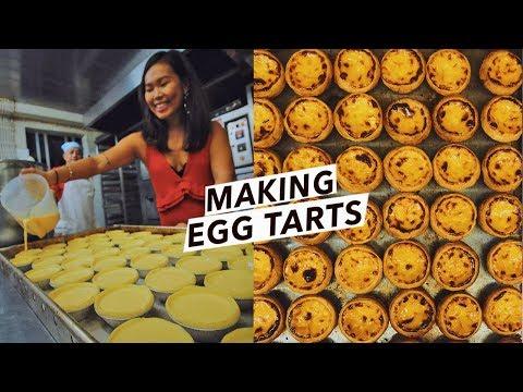 Making Portuguese Egg Tarts in Macao (Kinda) | 葡式蛋挞 | Macau Travel Vlog/Street Food Tour