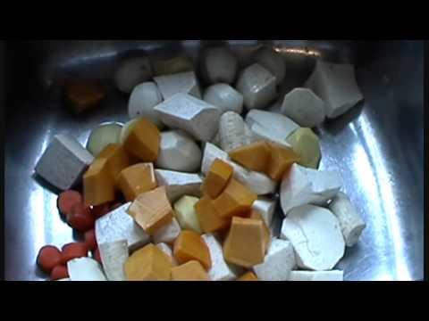 Sancoche Caribbean (Trinidad and Tobago) Soup.