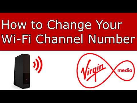 [Virgin Media] Changing Wi-Fi Channel Number for Faster Internet!