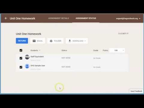 Google Classroom - New Features October 2014