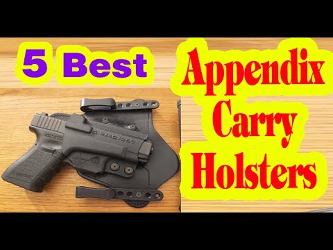 Best Appendix Carry Holsters  to Buy in 2017
