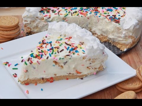 No-Bake Cake Batter Cheesecake Recipe