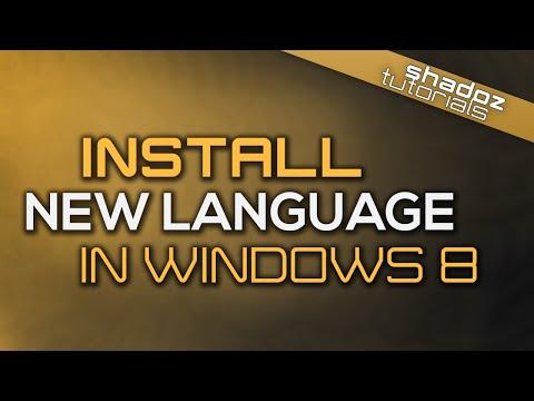 How to Change the Display Language of Windows 8/8.1