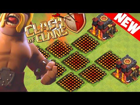 Clash of Clans - NEW INVISIBLE BUILDINGS GLITCH! STRANGE VILLAGE EDIT GLITCH!