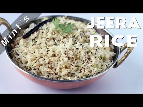 Jeera Rice Recipe | Indian Rice Recipe | Flavoured Cumin Rice Recipe