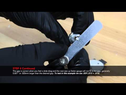 TECH DOWNLOAD : Spark Plug Gapping