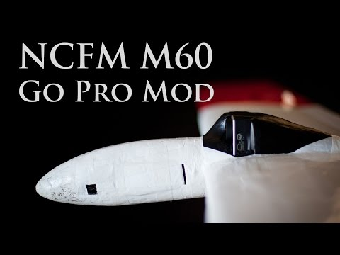 Modifying a NCFM M60 to mount a Go Pro