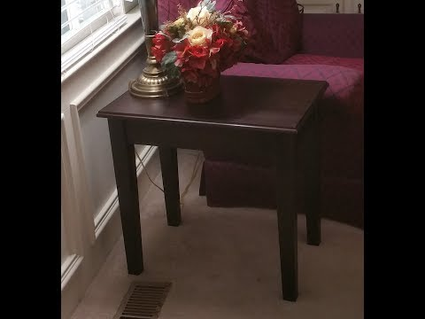 DIY HighTop and End Table