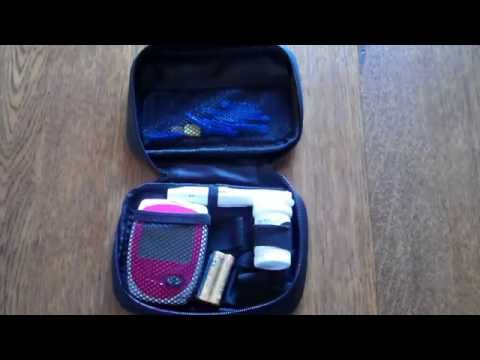 Anaemia Test Meter Easy Life blood haemoglobin meter test demonstrated