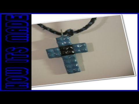 How A Studded Cross Necklace is Made