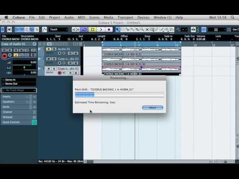 Cubase Tutorial - Tech Tip 8 - Create Stereo Width in Cubase 5 (Vocals, Lead Sounds etc.)