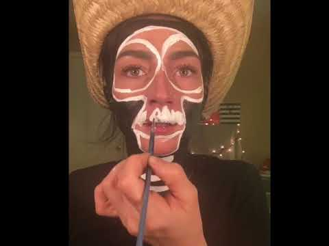 """Hector from """"Coco"""" tutorial after edibles"""